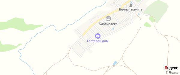 Улица Механизаторов на карте села Верхнего Караная Дагестана с номерами домов