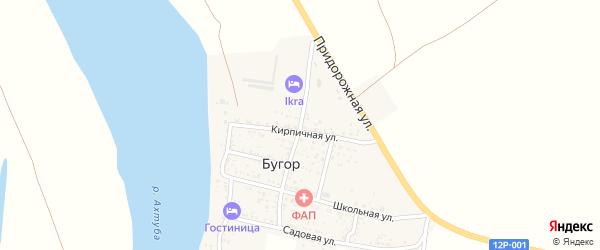Советский переулок на карте поселка Бугра с номерами домов