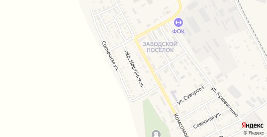 Переулок Нефтяников в Красном Куте с номерами домов на карте. Спутник и схема онлайн