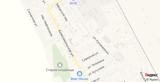 Улица им Суворова в Красном Куте с номерами домов на карте. Спутник и схема онлайн