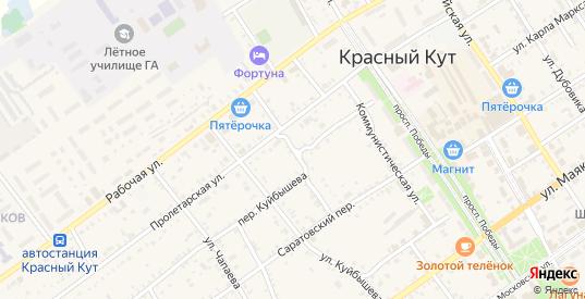 Лиманная улица в Красном Куте с номерами домов на карте. Спутник и схема онлайн