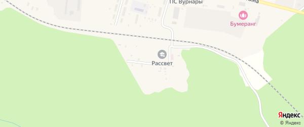 Ветеринарная улица на карте поселка Вурнары Чувашии с номерами домов