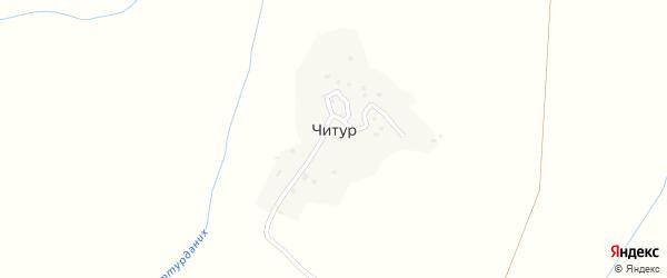 Улица Мурлиялу на карте села Читура Дагестана с номерами домов