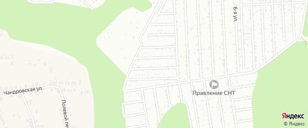 Территория сдт Родничок на карте Чебоксар с номерами домов
