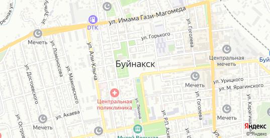 Переулок Л.Залиева в Буйнакске с номерами домов на карте. Спутник и схема онлайн