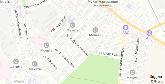 Улица Лермонтова в Буйнакске с номерами домов на карте. Спутник и схема онлайн