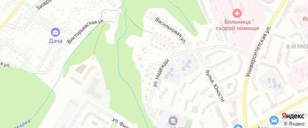 Ромашковая улица на карте Чебоксар с номерами домов