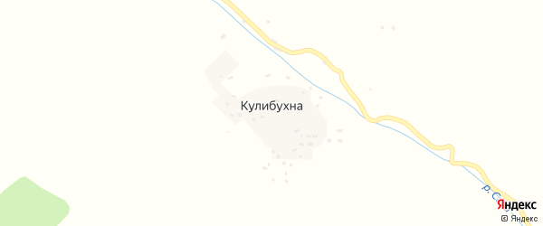 Школьная улица на карте села Кулибухны Дагестана с номерами домов