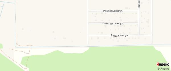 Радужная улица на карте Коряжмы с номерами домов