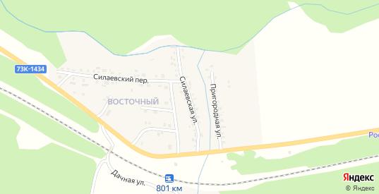 Силаевская улица в Барыше с номерами домов на карте. Спутник и схема онлайн