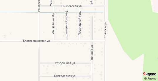 Благовещенская улица в Коряжме с номерами домов на карте. Спутник и схема онлайн
