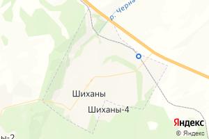 Карта г. Шиханы Саратовская область