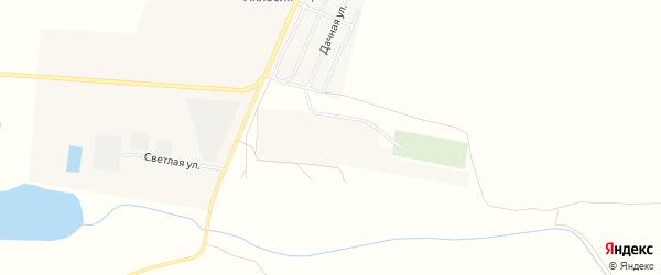 Садовое товарищество Лиманец на карте поселка Лимана Астраханской области с номерами домов