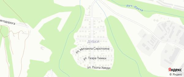 Улица Никифора Охотникова на карте Чебоксар с номерами домов