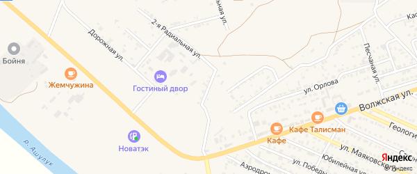 Центральная улица на карте Гремучего поселка с номерами домов