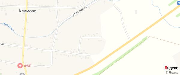 Пионерская улица на карте села Климово с номерами домов