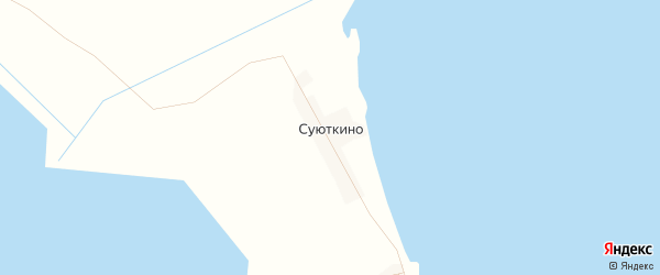Карта села Суюткино в Дагестане с улицами и номерами домов