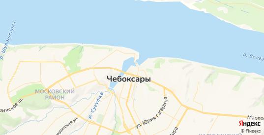 Карта Чебоксар с улицами и домами подробная. Показать со спутника номера домов онлайн