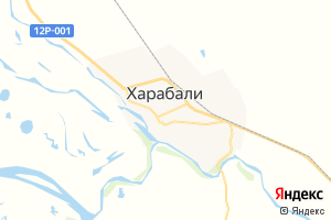 Карта г. Харабали Астраханская область