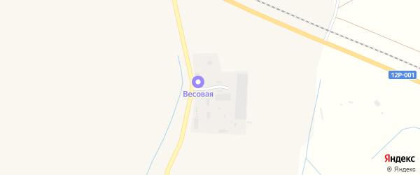 Загородная улица на карте Харабали с номерами домов