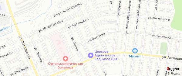 Улица Дунаевского на карте Чебоксар с номерами домов