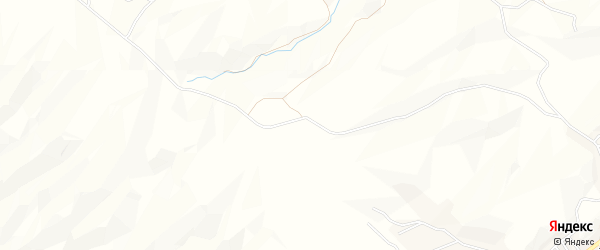 Карта села Телягу в Дагестане с улицами и номерами домов