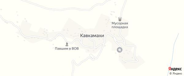 Улица М.Алиева на карте села Кавкамахи с номерами домов