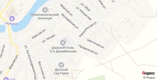 Ракушинская улица в Лагани с номерами домов на карте. Спутник и схема онлайн