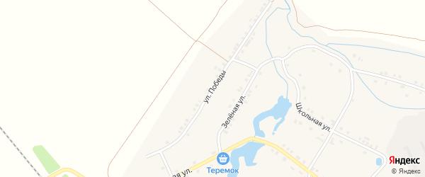 Улица Победы на карте деревни Кармамеи с номерами домов