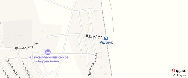 Территория Военный городок 135 (в/г 135) на карте поселка Ашулука Астраханской области с номерами домов