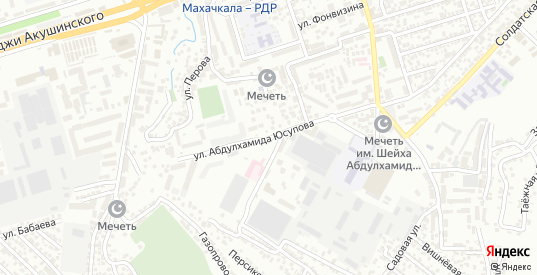 Сепараторная улица в Махачкале с номерами домов на карте. Спутник и схема онлайн