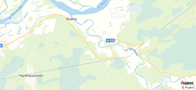 Сведомково на карте