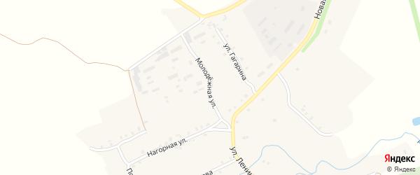 Молодежная улица на карте села Чурачики Чувашии с номерами домов