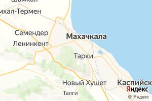 Карта г. Махачкала Республика Дагестан
