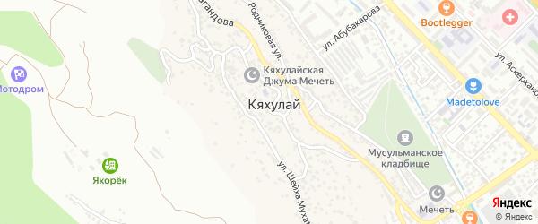 Школьная улица на карте поселка Кяхулая с номерами домов