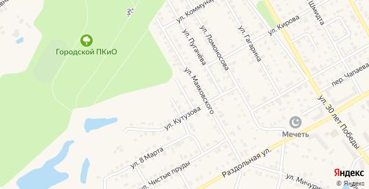 Проезд Маяковского в Канаше с номерами домов на карте. Спутник и схема онлайн