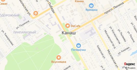 СНТ Садоводческое неком.тов-во Связист в Канаше с номерами домов на карте. Спутник и схема онлайн