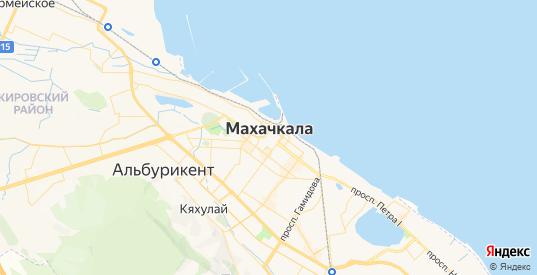 Карта Махачкалы с улицами и домами подробная. Показать со спутника номера домов онлайн