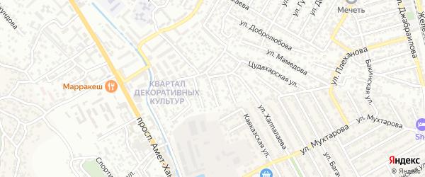 3-й Скульптурный тупик на карте Махачкалы с номерами домов