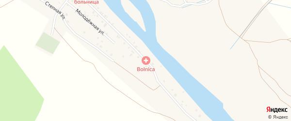 Заречная улица на карте поселка Сулака с номерами домов