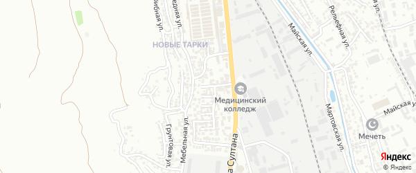 Свободы 1-й тупик на карте поселка Тарки с номерами домов