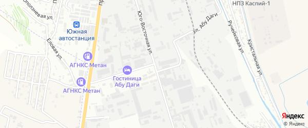 Улица Абу Даги на карте Махачкалы с номерами домов