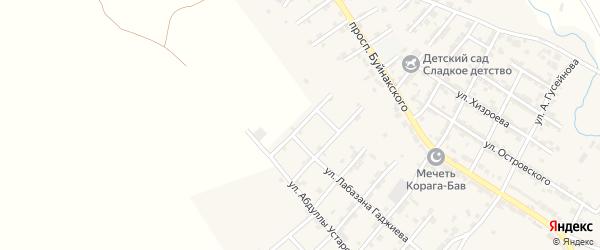 Улица Акай Алиева на карте микрорайона Сергендираул с номерами домов