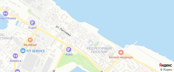 Морская улица на карте Махачкалы с номерами домов