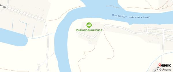Улица Трусова на карте села Оранжереи Астраханской области с номерами домов