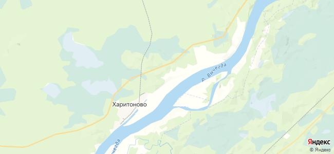 Пряновская на карте