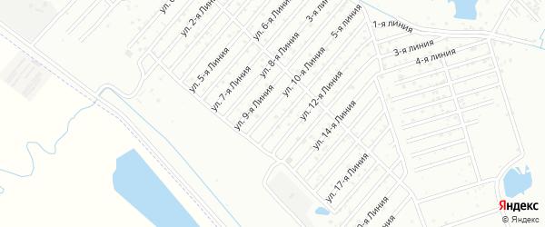 22-я линия на карте Дагестана СНТ с номерами домов
