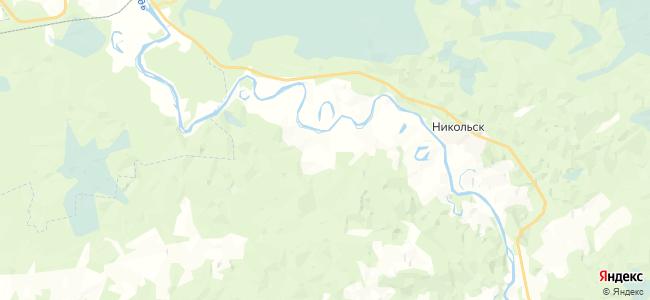Таборы на карте