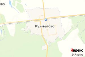 Карта пгт Кузоватово Ульяновская область