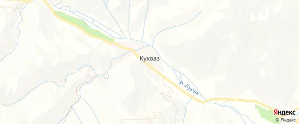 Карта села Кукваза в Дагестане с улицами и номерами домов